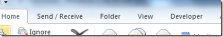 Find folder by name in outlook