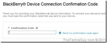 blackberry console - code