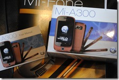 Mi-fone unboxed