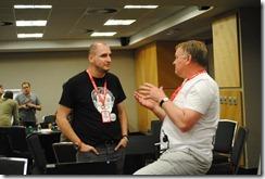 Mentors giving advise