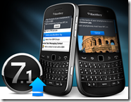Blackberry upgrade 7.1