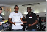 Mobile Monday - happy winners of Galaxy Tab