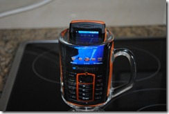Discovery phone - the water dunk test