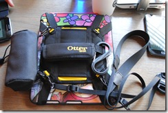 Otter Box - with an iPad