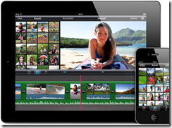 New iPad - iMovie