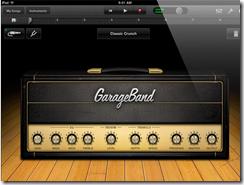 New iPad - GarageBand