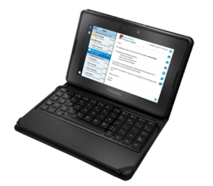 Blackberry Playbook - keyboard and case