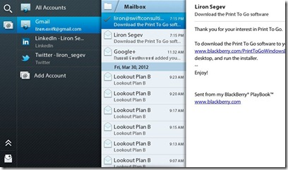 Playbook 2.0 - email