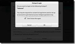 Blackberry Playbook 2.0 - Internet