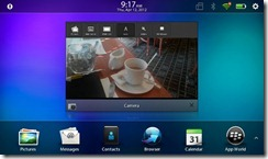 Blackberry Playbook 2.0 - Photo