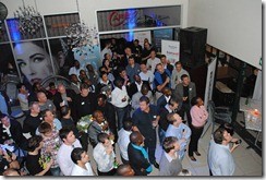 Mobile Monday - attentive crowd