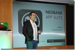Fred Swanepoel, Nedbank's Chief Information Officer