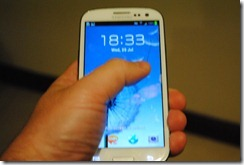 Samsung Galaxy SIII - solid and beautiful