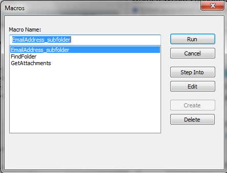 Extracting Email Address from Outlook Folder & Subfolders -