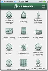 Nedbank mobile app suite
