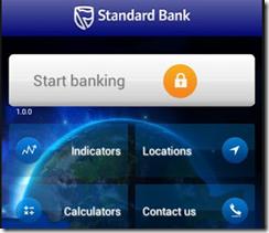 Standard Bank Mobile app