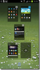 Samsung Galaxy SIII - Home screen