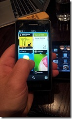 Blackberry 10  - screen setup