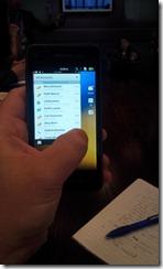Blackberry 10  - screen setup