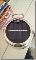 Solar Jar - panels