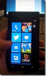 Nokie Lumia 900 - tiles