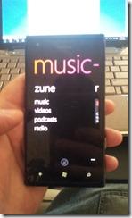 Nokie Lumia 900 - Music