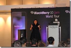 Blackberry 10 JAM Cape Town - Alexandra Zagury