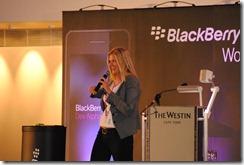 Blackberry 10 JAM Cape Town - Lelany Sommers