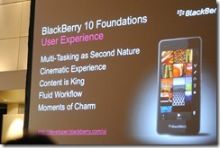 Blackberry 10 - Jam cape town