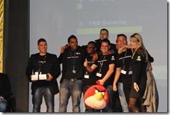 MTN App of the Year - FNB team