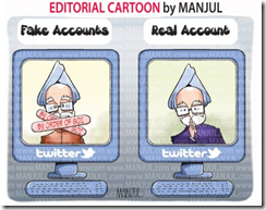 India blocks accout