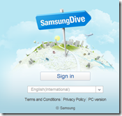 Samsung Dive - how to track your phone