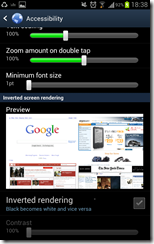 Galaxy Note ICS - Internet