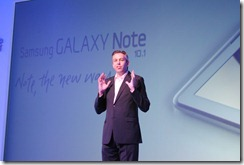 Samsung Note 10.1 - Justine Hume, Head of Marketing