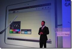 Samsung Galaxy Note 10.1 -Yudi Rambaran, Product Manager Tablets at Samsung SA