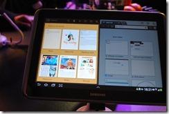 Samsung Galaxy Note 10.1 -Split screen