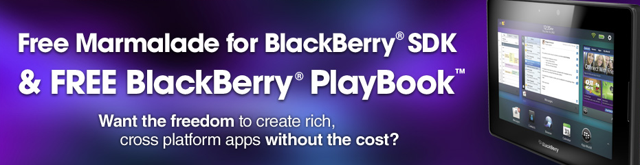 Marmalade and Blackberry partner -