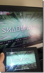 Blackberry Playbook - Playing Games Shadogun