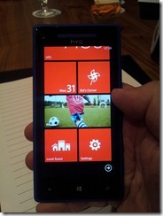 Windows Phone 8 - HTC