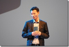 Galaxy Note II - KK Park president & CEO - World Tour Cape Town