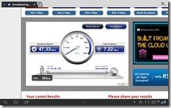 MTN LTE - Speedtest