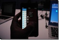 BlackBerry10 Launch - swype