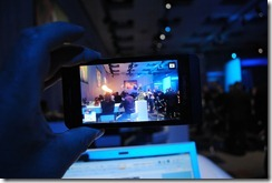 BlackBerry10 Launch- the camera