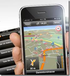 Navigon on Galaxy Note II