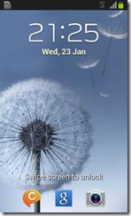 Samsung Galaxy S3 Mini - interface