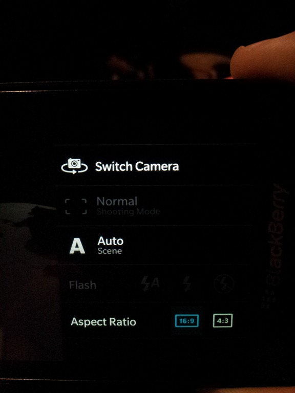 The Camera on the Blackberry Z10: no more Eyes-Wide-Shut -