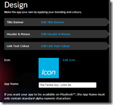 BlackBerry® App Generator - Design