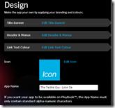 BlackBerry® App Generator - Design