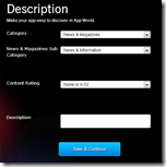 BlackBerry® App Generator - Description
