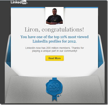 LinkedIn 200 million milestone
